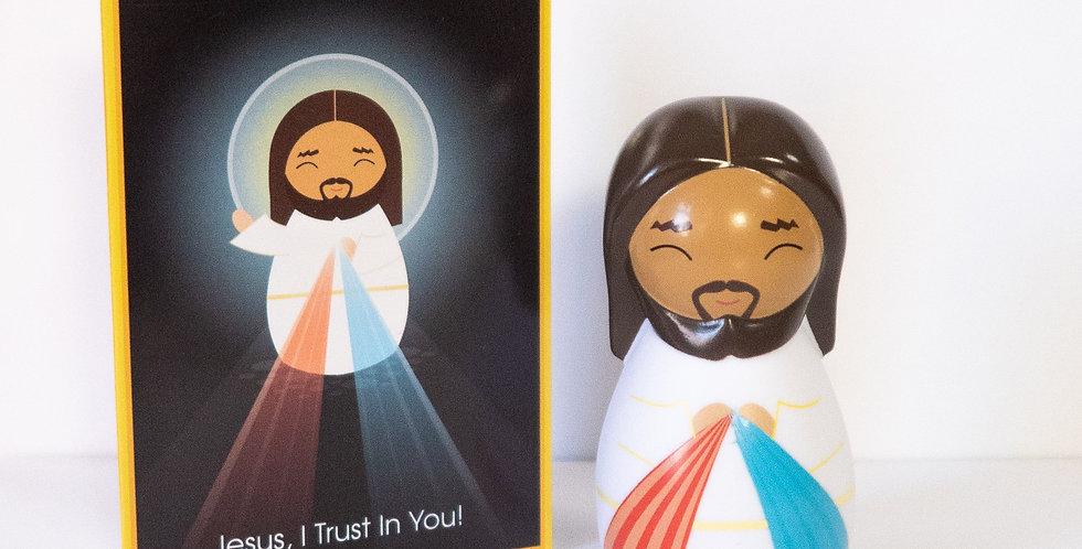 Divine Mercy Jesus Shining Light Doll