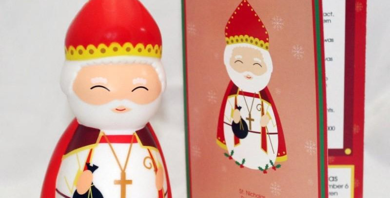 Saint Nicholas Shining Light Doll