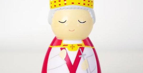 "Saint Pope John Paul II ""the Great"" Shining Light Doll"