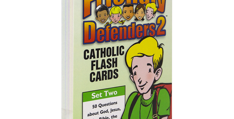 Friendly Defenders 2: Catholic Flash Cards