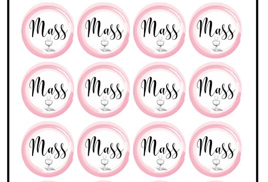 Mass, Stickers