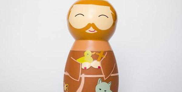Saint Francis of Assisi Shining Light Doll