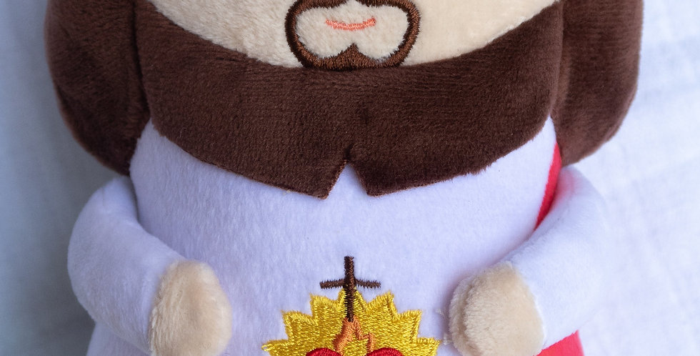 "Sacred Heart Jesus Plush Doll 10"""
