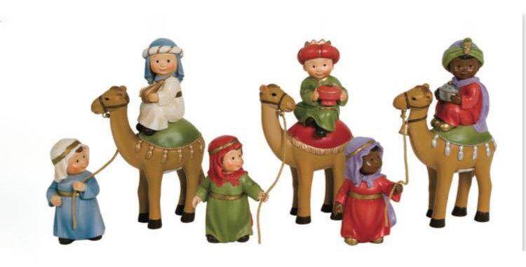 Wise Men on Camel, Naif Style