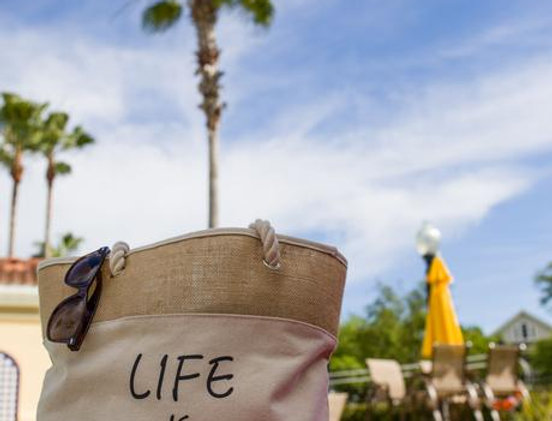 'Life Is amazing' Tote Bag