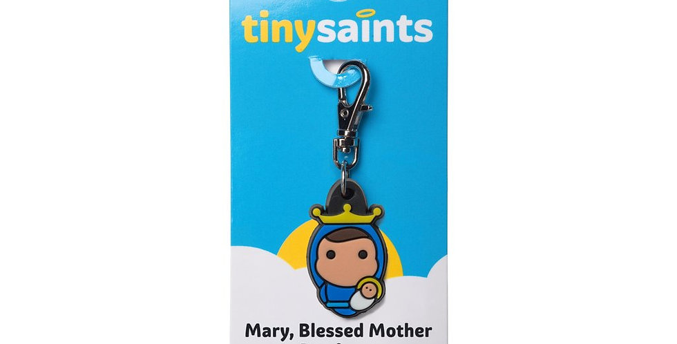 Mary Blessed Mother Charm
