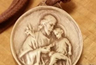 St Joseph Medal - 2.5cm