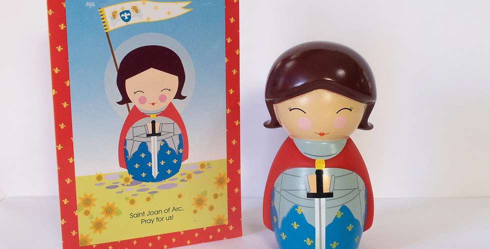 Saint Joan of Arc Shining Light Doll