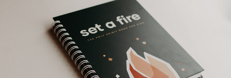 SET A FIRE FOR KIDS LENT JOURNAL