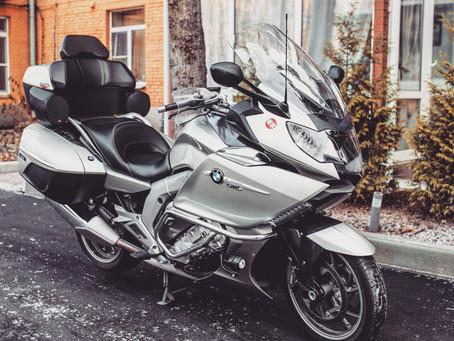 Audio system upgrade on BMW K1600GTL motorcycle