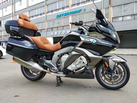 Audio system upgrade on K1600 GT/GTL motorcycles