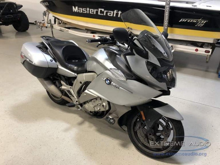 Stereo Upgrade for Midlothian BMW K1600 GTL Motorcycle