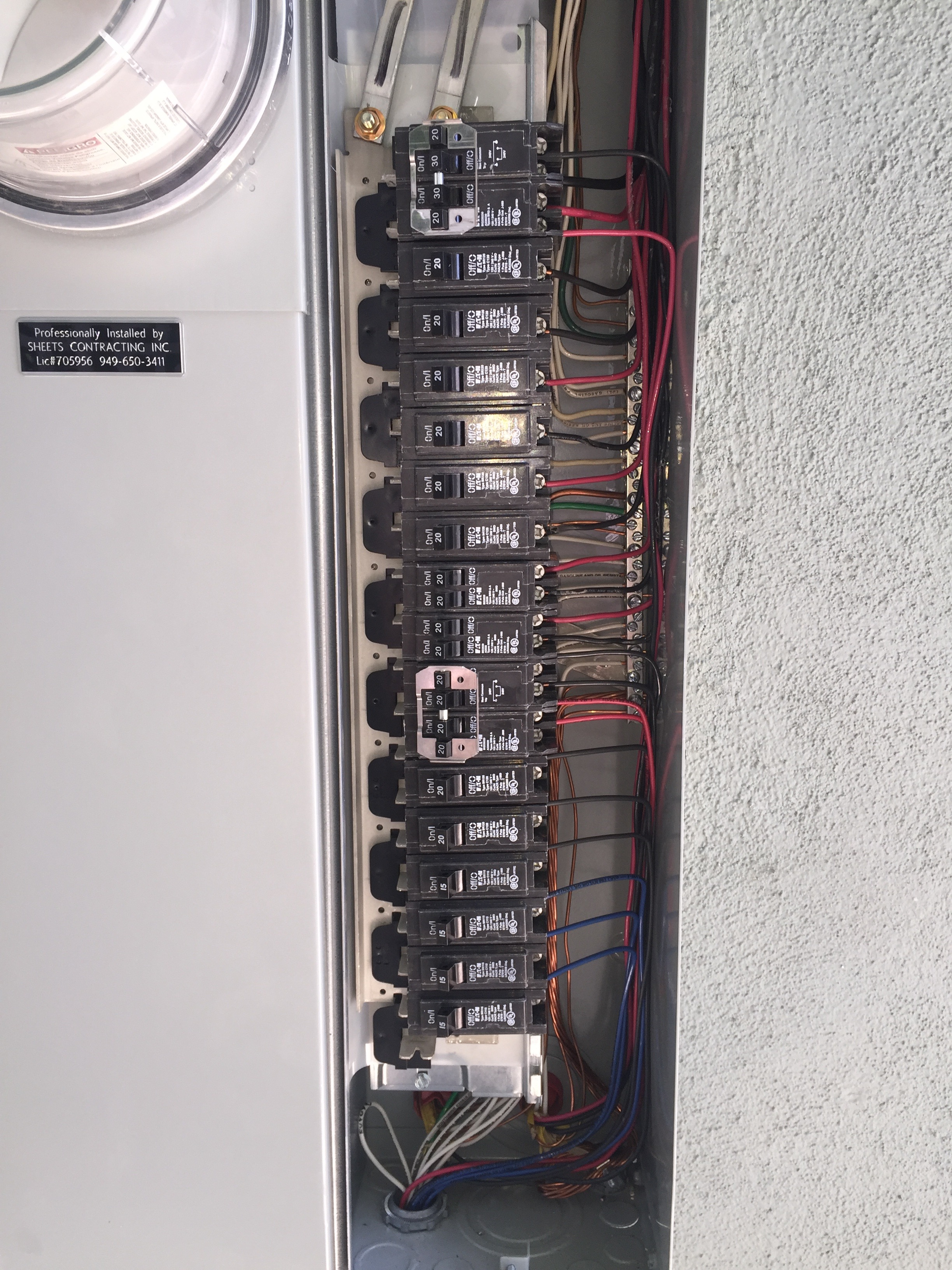 200 amp service panel for charger