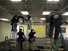 Commercial wiring in OC, California