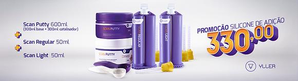 Kit Putty + Regular + Leve 2 fluidos de 50ml cada