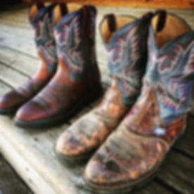 Sometimes the difference between a good live concert and a disaster is a new pair of Ariat boots...