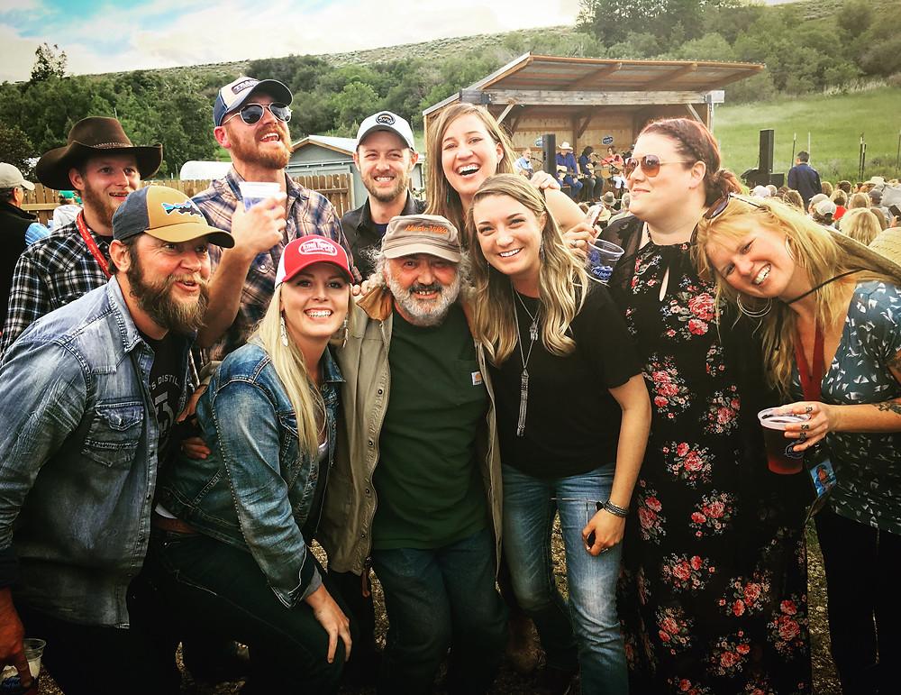 Songwriters surrounding the legendary Kostas