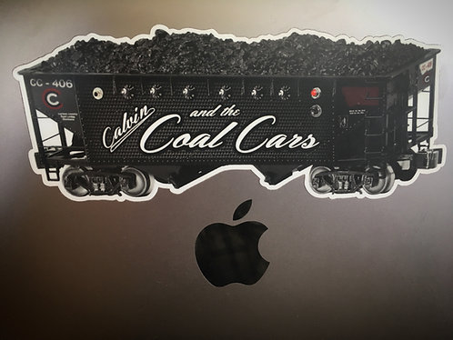 Coal Cars Bumper Sticker