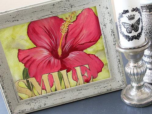 """""""Smile"""" Original Art"""