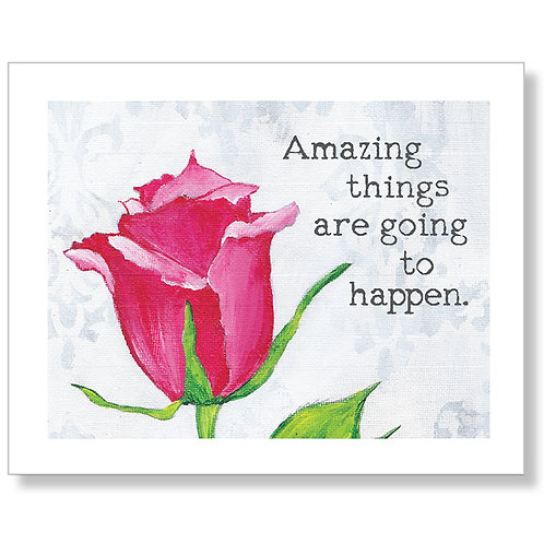 """Amazing Things"" Art Print"