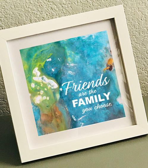 Friends Ii Framed Print