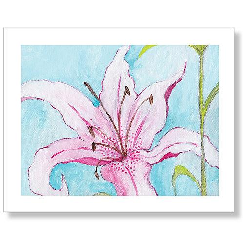 """Dream Lily"" Art Print"