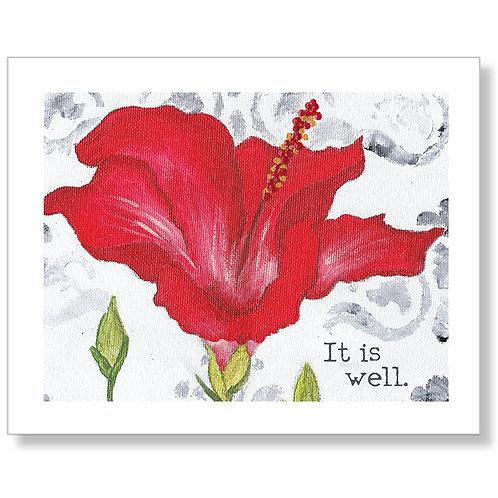 """""""It is Well"""" Art Print"""