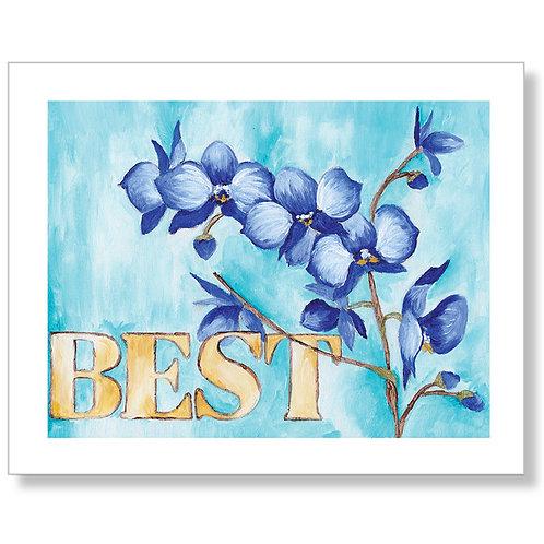 """Best"" Art Print"