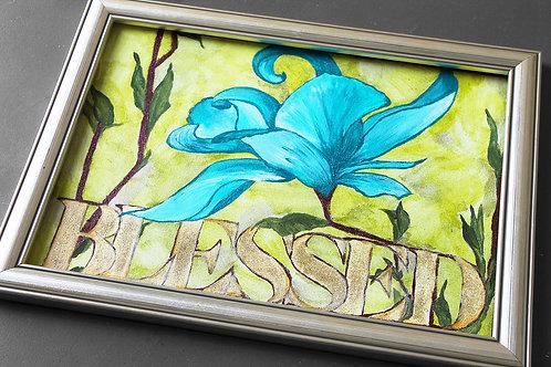 """""""Blessed"""" Original Art"""