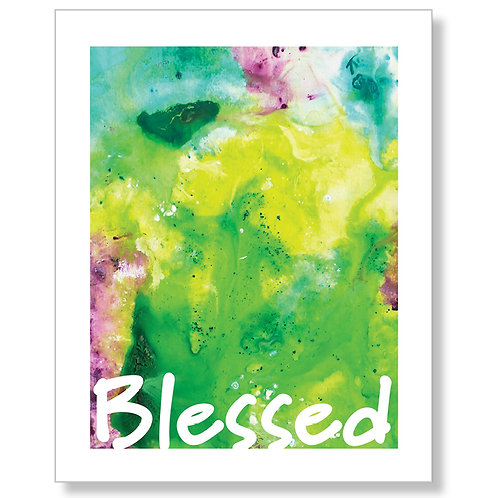 """Blessed"" Art Print"