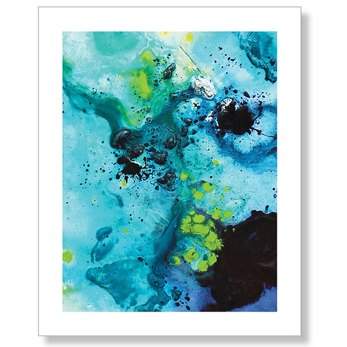 """Another Turquoise Dream"" Art Print II"