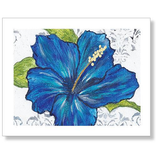 """Vibrant Hibiscus"" Art Print"