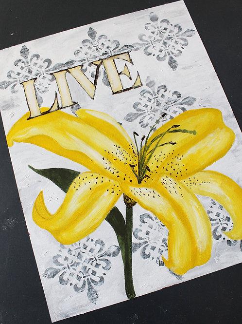"""""""Live"""" Original Art"""