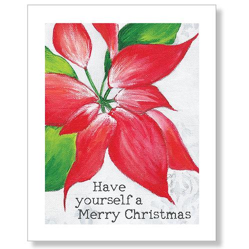 """Merry Christmas"" Art Print"