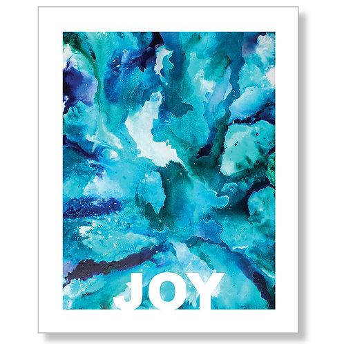 """""""JOY"""" Art Print"""