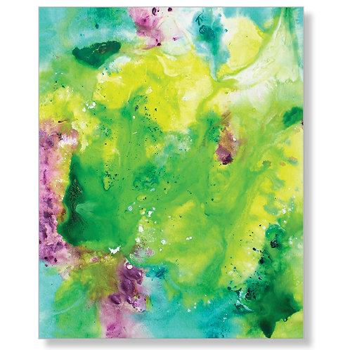 """Happy"" Canvas Art Print"