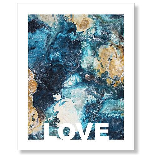 """Love"" Art Print"