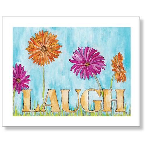 """""""Laugh"""" Art Print"""
