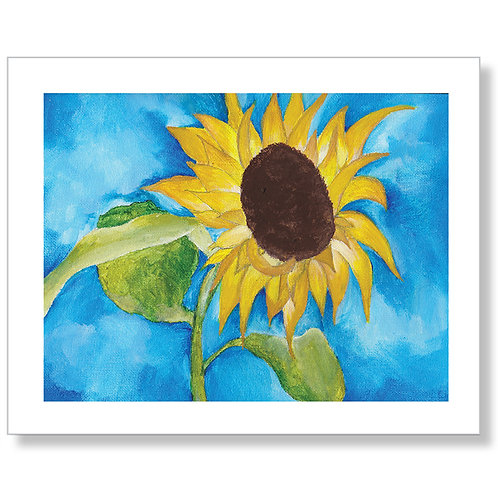 """Sunshine in Oregon"" Art Print"