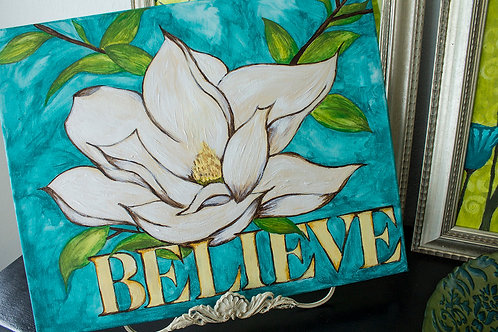 """Believe"" Original Art"