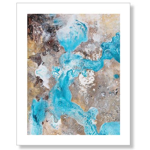 """Life's a Beach"" Art Print"