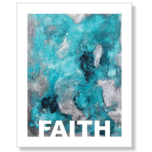 """""""Faith"""" Art Print"""