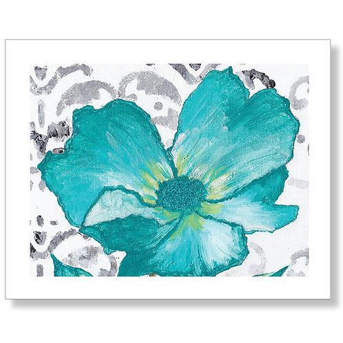 """""""Lovely Turquoise"""" Art Print"""