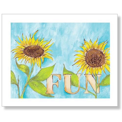 """Fun"" Art Print"