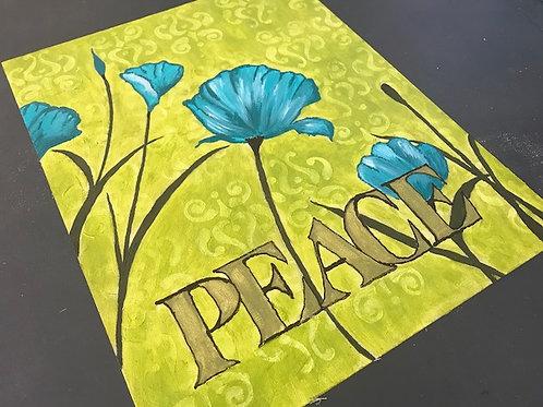"""Peace"" Original Art"