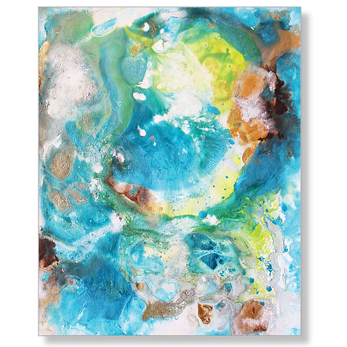 """New Beginnings II"" Canvas Art Print"