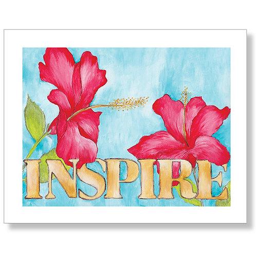 """Inspire"" Art Print"