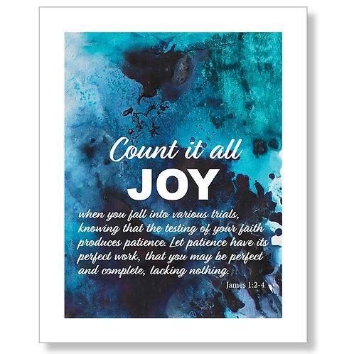 Count It All Joy II Art Print