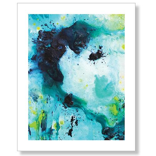 """Turquoise Dream"" Art Print"