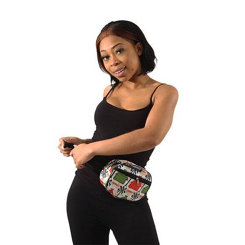 African Print Waist Pack